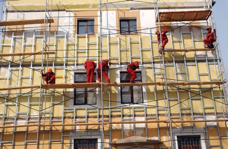 Ремонт фасадов панельных домов мытищи