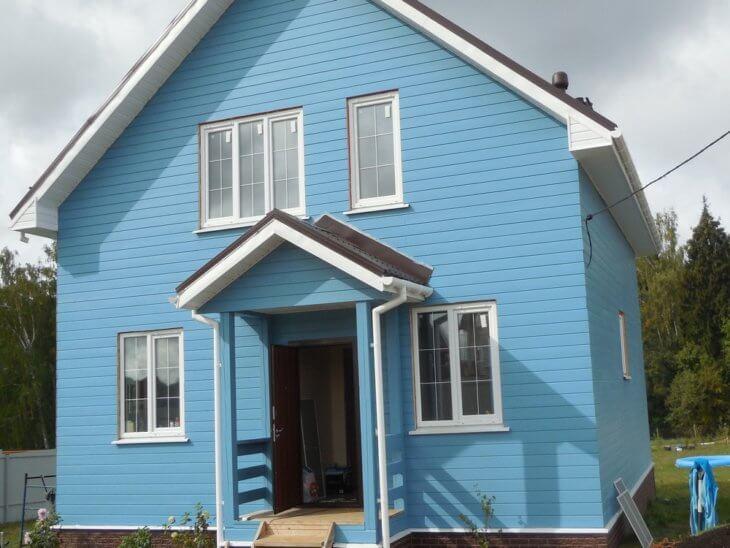 Обзор и Цвет деревянного дома