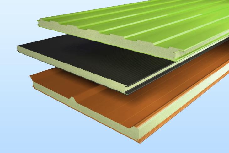 Виды сэндвич-панелей по типу материала и теплоизолятора