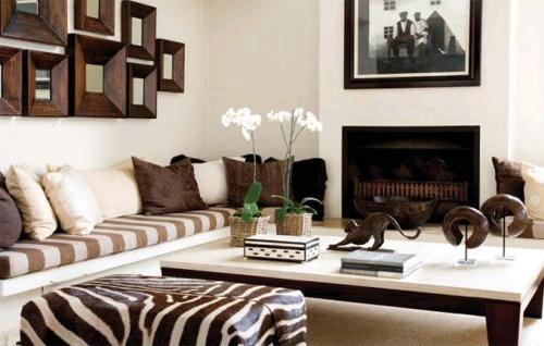 Как украсить интерьер в африканском стиле?
