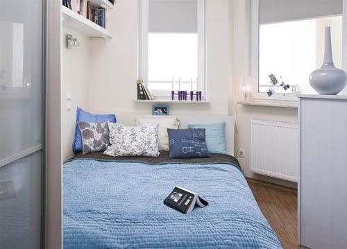 Как сделать просторнее маленькую спальню?