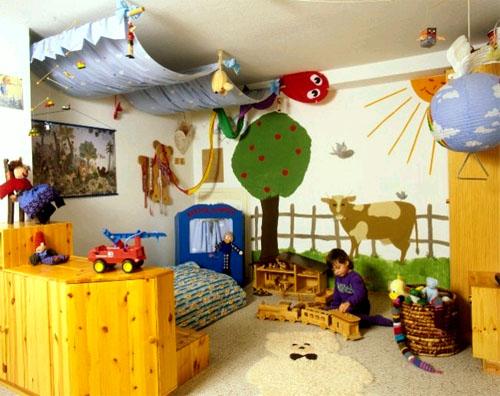 Интересные идеи для дизайна интерьера детской комнаты