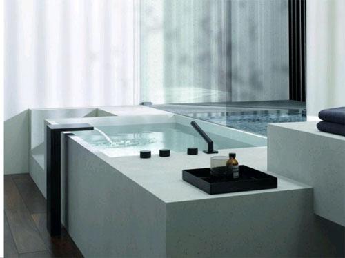 Изысканность в современной ванной комнате