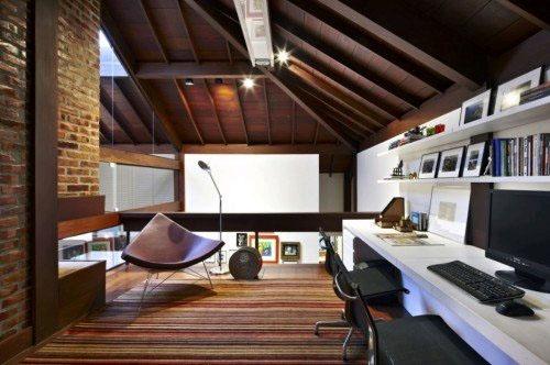 Домашний кабинет: работа и релаксация