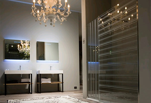 Дворцовые интерьеры в ванной комнате