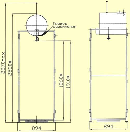 Как построить летнюю душевую кабину?