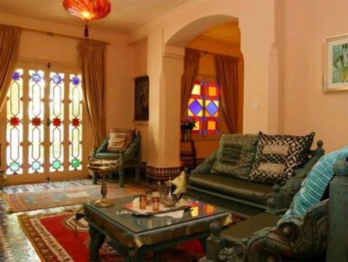 Гостиная в марокканском стиле