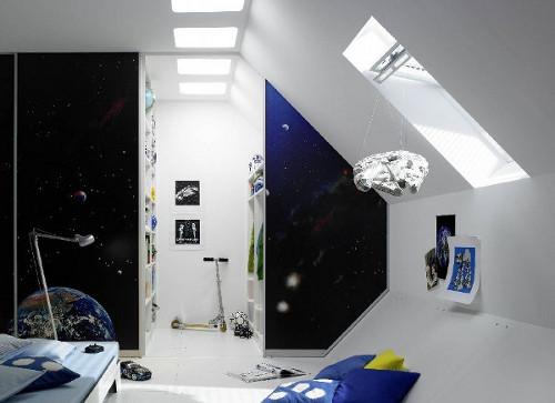 Детская комната на мансарде: особенности оборудования
