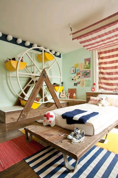 Креативная детская комната