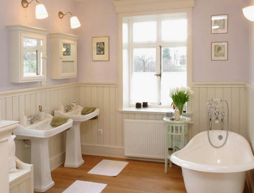 Ванная в английском стиле: общие принципы дизайна