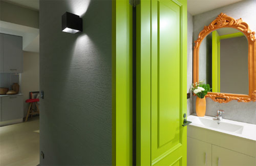 Как украсить интерьер в стиле флуо?