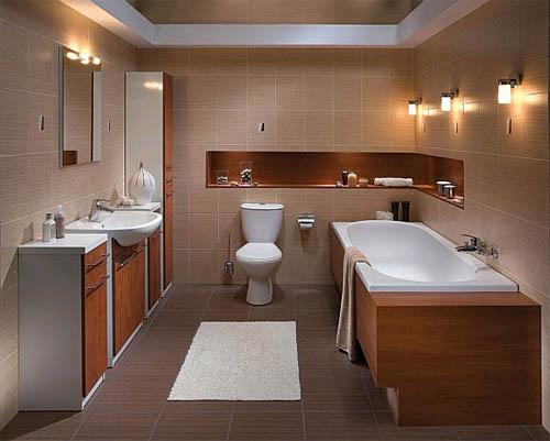 Ванная, совмещенная с туалетом: плюсы и минусы, дизайн интерьера