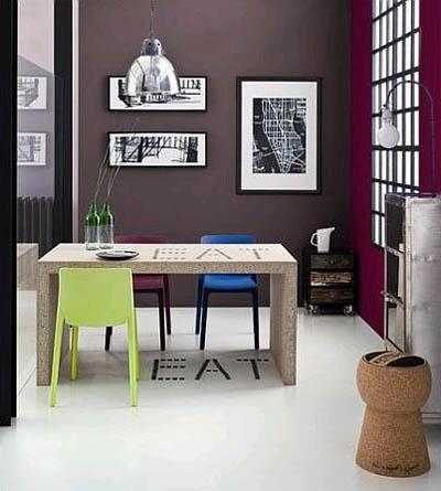 Как оформить столовую в индустриальном стиле?