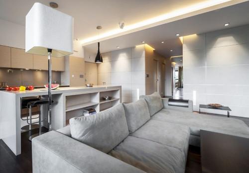 Гостиная в современном стиле: свежие идеи и решения