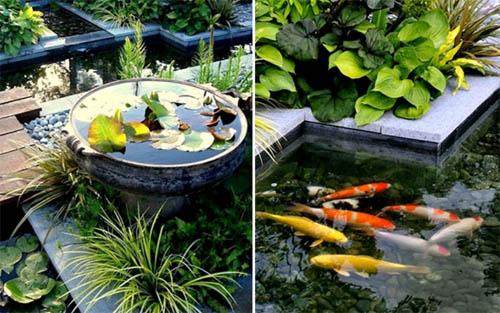 Ванная комната в саду