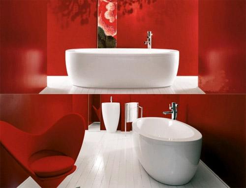 Красочная ванна