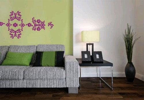 Виниловые стикеры на стены – весенние декорации