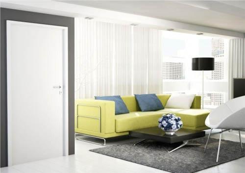 Белый цвет в интерьере: простота и элегантность