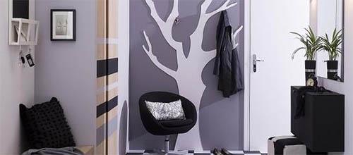 Как использовать серый цвет на стенах?