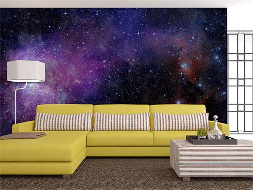 Космические мотивы на стенах Вашей квартиры