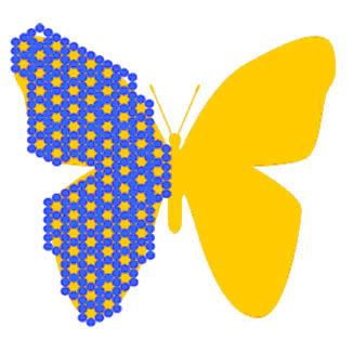 Бабочки в интерьере на стене своими руками: самобытные и практичные идеи