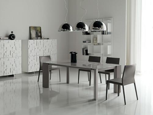 Как оформить столовую в стиле минимализм?