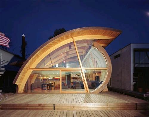 Каким может быть современный дом?