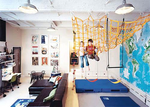 Интерьер однокомнатной квартиры с детской зоной: когда традиционных решений недостаточно