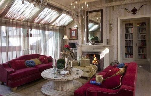 Английский стиль гостиной: классика уюта