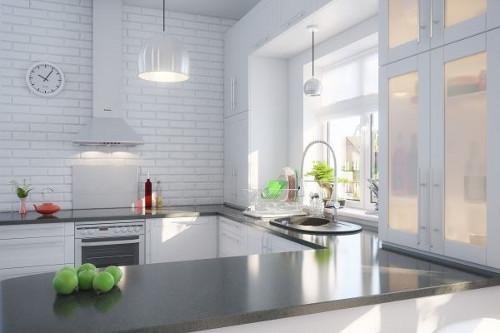 Идеи для интерьера городской кухни