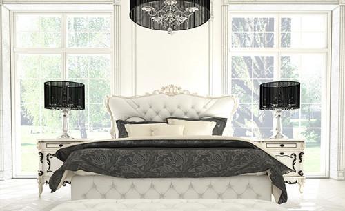 Как оформить спальню в стиле гламур?
